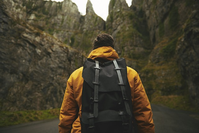 backpack hiking training for backcountry skiing