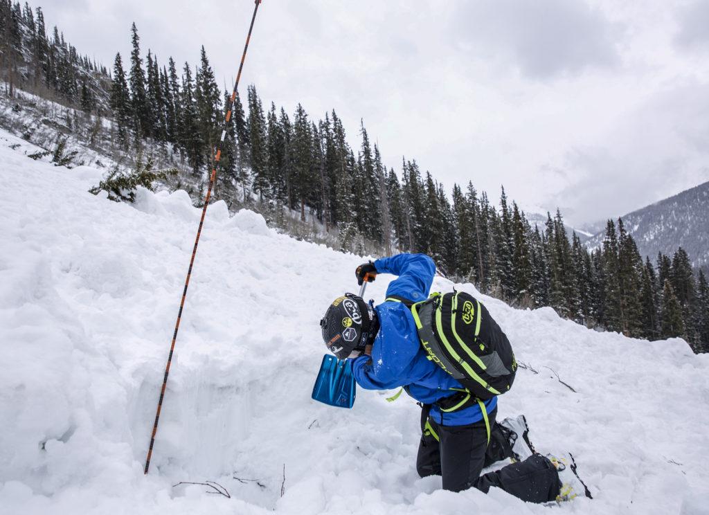 avalanche rescue practice