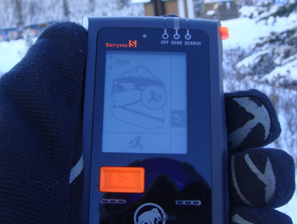 mammut barryvox s transceiver search mode
