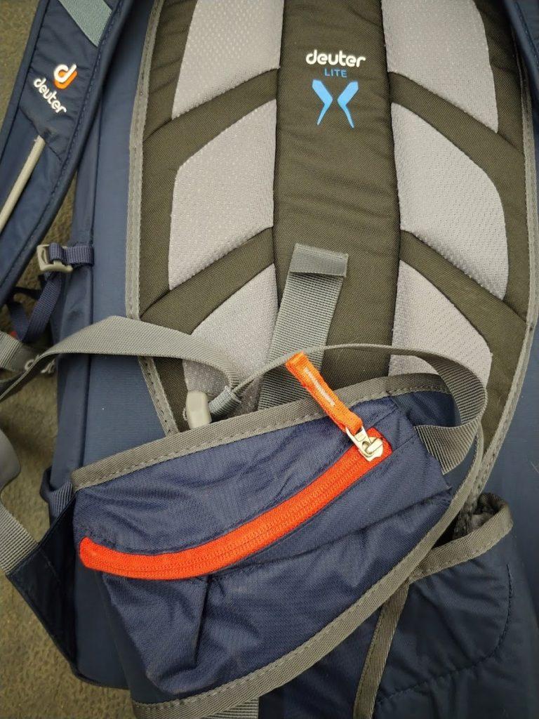 deuter rise lite 28 backcountry skiing pack air mesh back system