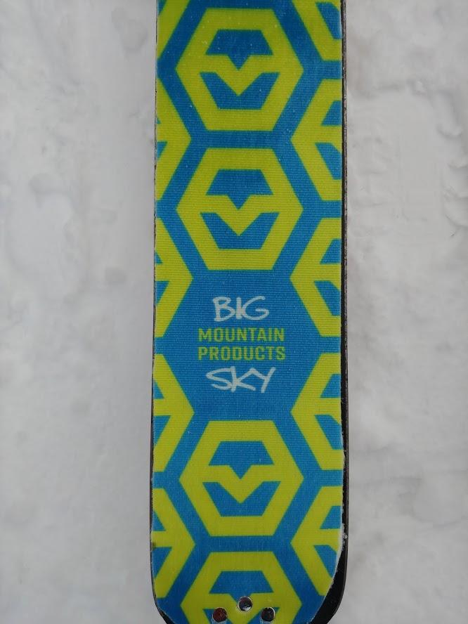 big sky mountain products climbing skins