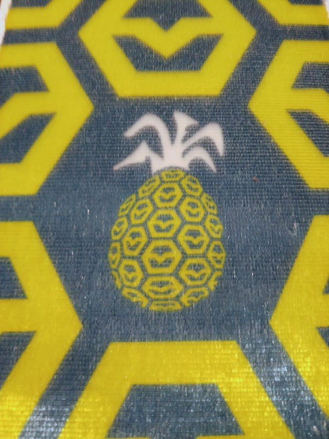 pineapple climbing skin graphic