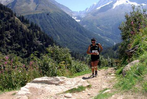 an old of pic kilian jornet (one of the training for the uphill athlete authors) on a run